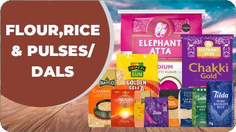Flour, Rice & Pulses/Dals
