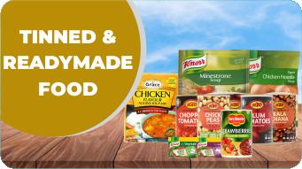 Tinned & Readymade Food