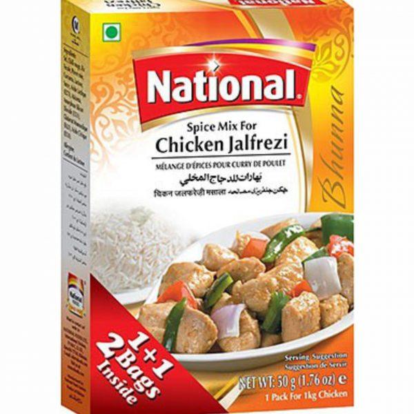 National Chicken Jalfrezi 50g