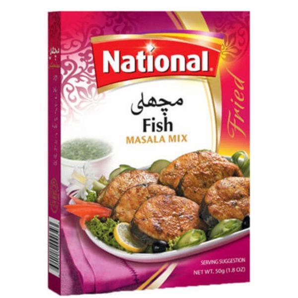 National Fish Masala Mix 50g