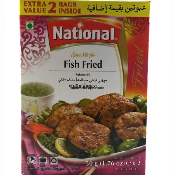 National Fried Fish 50g