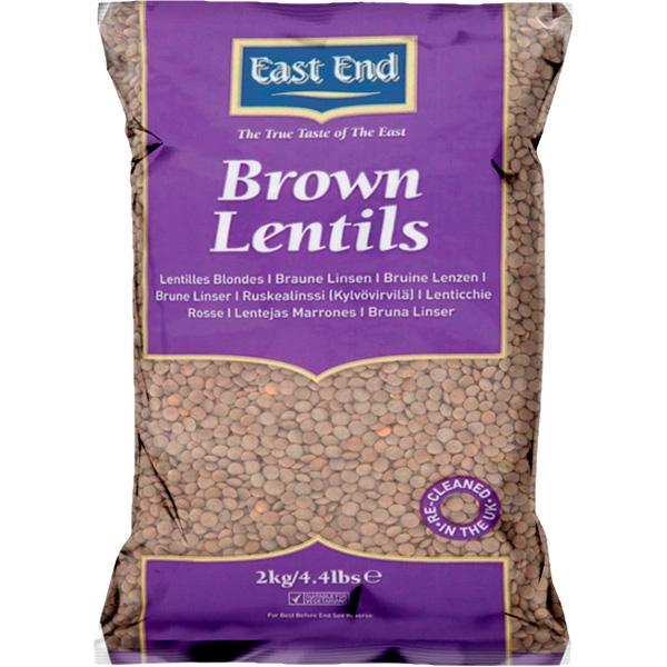 East End Brown Lentils 2kg