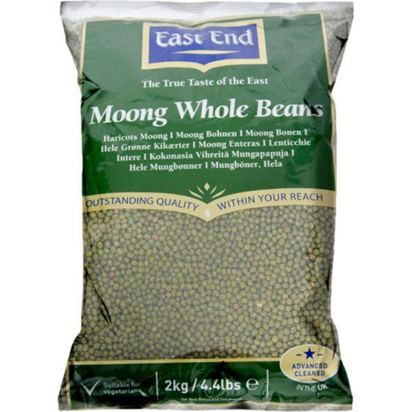 East End Moong Whole Beans 2kg