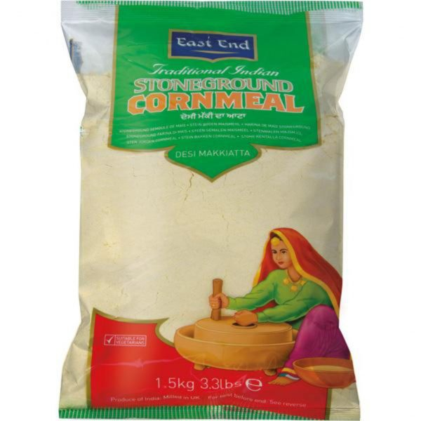 East End Traditional Indian Stoneground Cornmeal 1.5kg