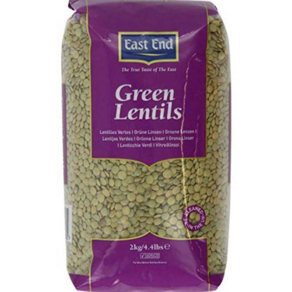 East End Green Lentils 2kg