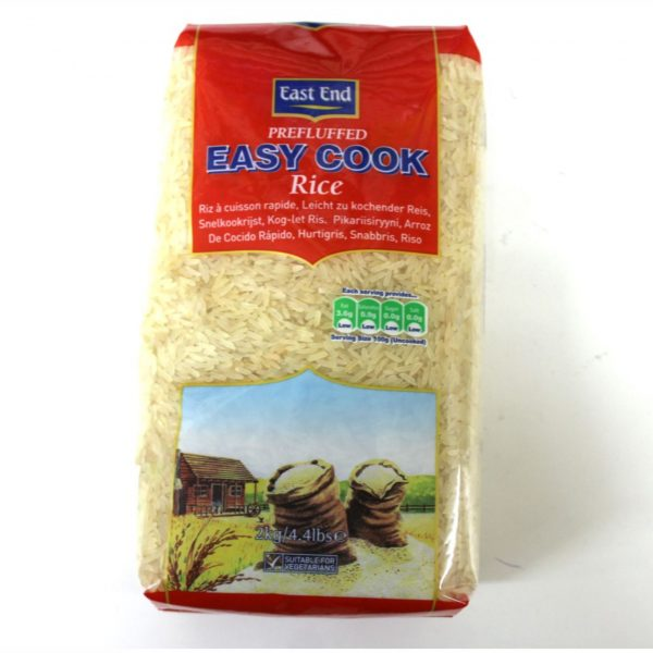 East End Easy Cook Rice 2kg
