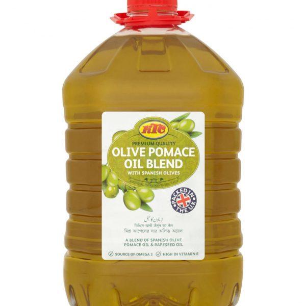 KTC Olive Pomace Oil Blend With Spanish Olives 5L