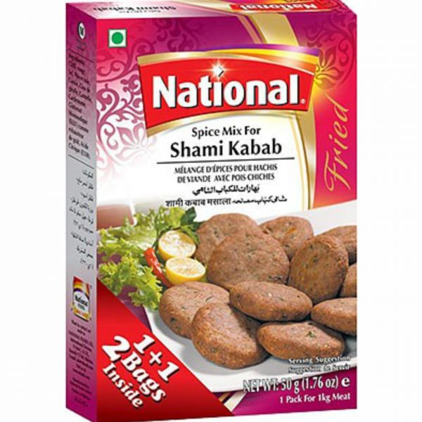 National Shami Kabab Masala 50g