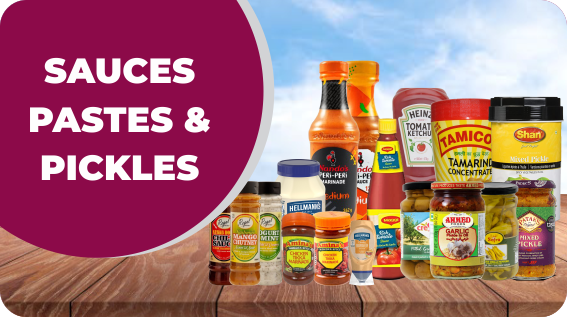 Sauces, Pastes & Pickles