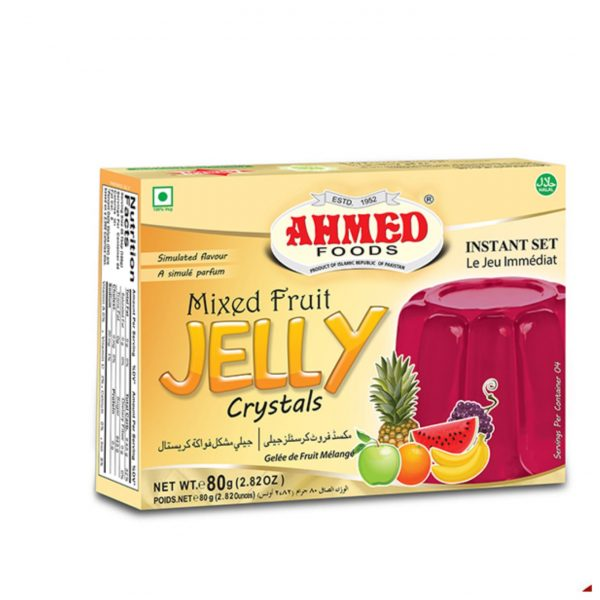 Ahmed Foods Mixed Fruit Jelly Crystals 80g