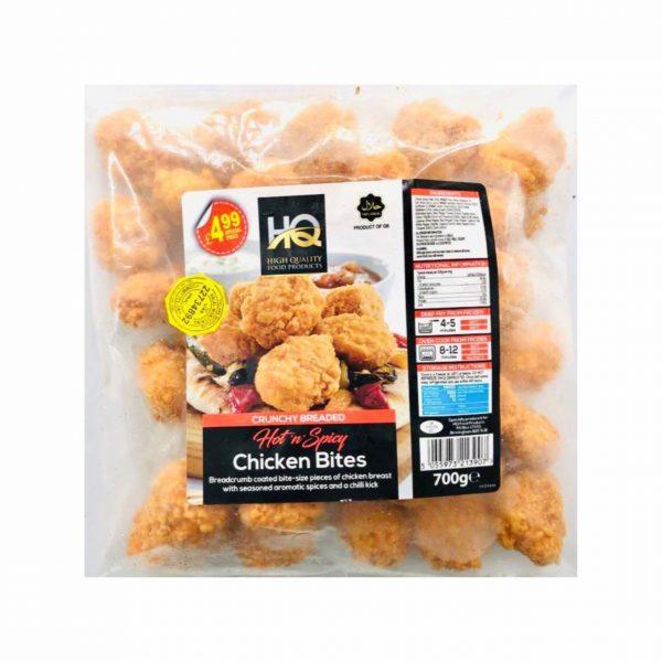 HQ Hot n Spicy Chicken Bites 700g