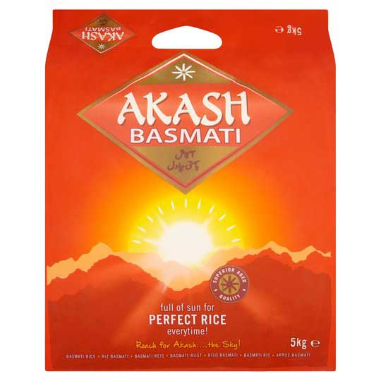 Akash Basmati 5kg