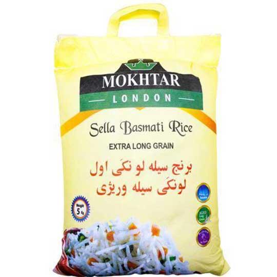 Mokhtar Sella Basmati Rice 5kg